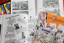 Bildausschnitte aus einem Jahrbuch