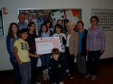 Spendenübergabe 2009