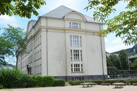 Ansicht der Justus Liebig Schule Darmstadt